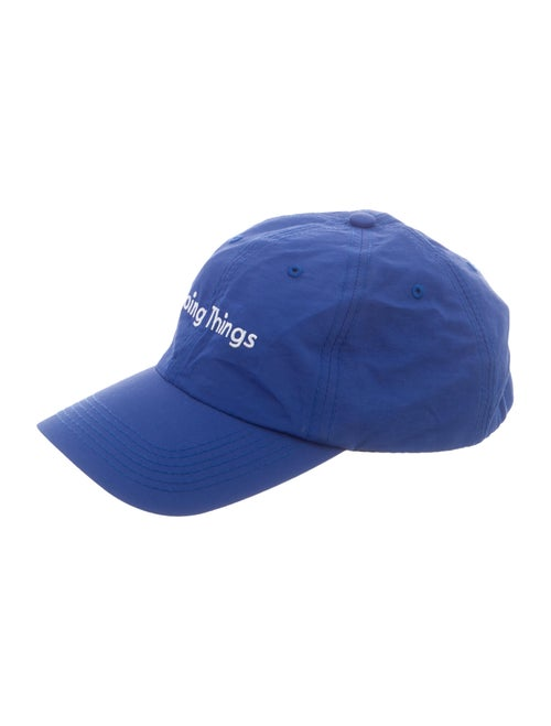 Outdoor Voices Embroidered Baseball Cap white
