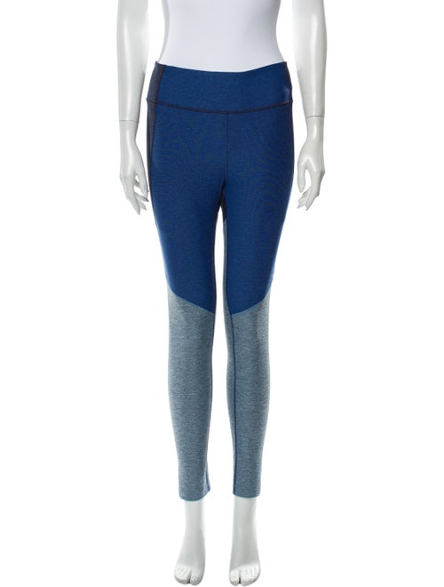 Outdoor Voices Colorblock Pattern Skinny Leg Pants