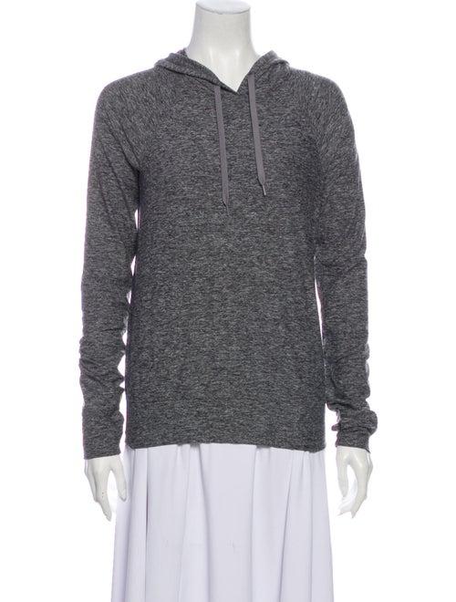 Outdoor Voices V-Neck Long Sleeve Sweatshirt Grey