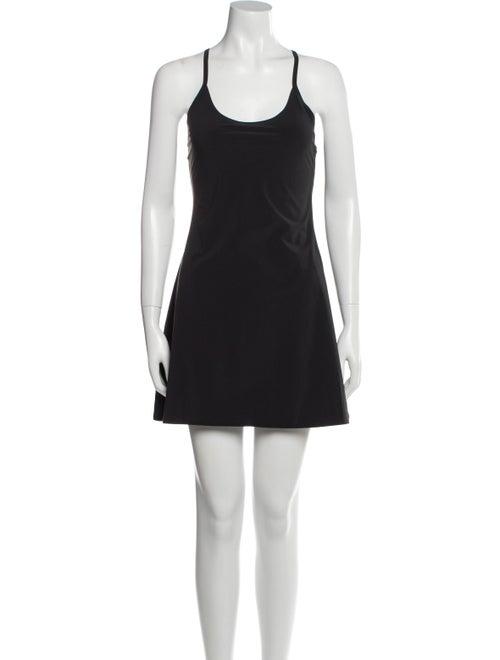 Outdoor Voices Scoop Neck Mini Dress Black