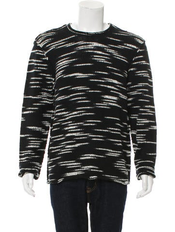 Ovadia & Sons Wool Crew Neck Sweater w/ Tags None