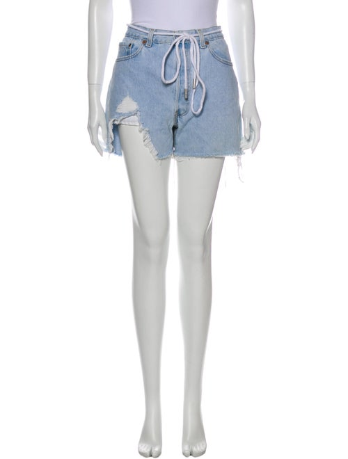 Off-White x Levi's Mini Shorts White