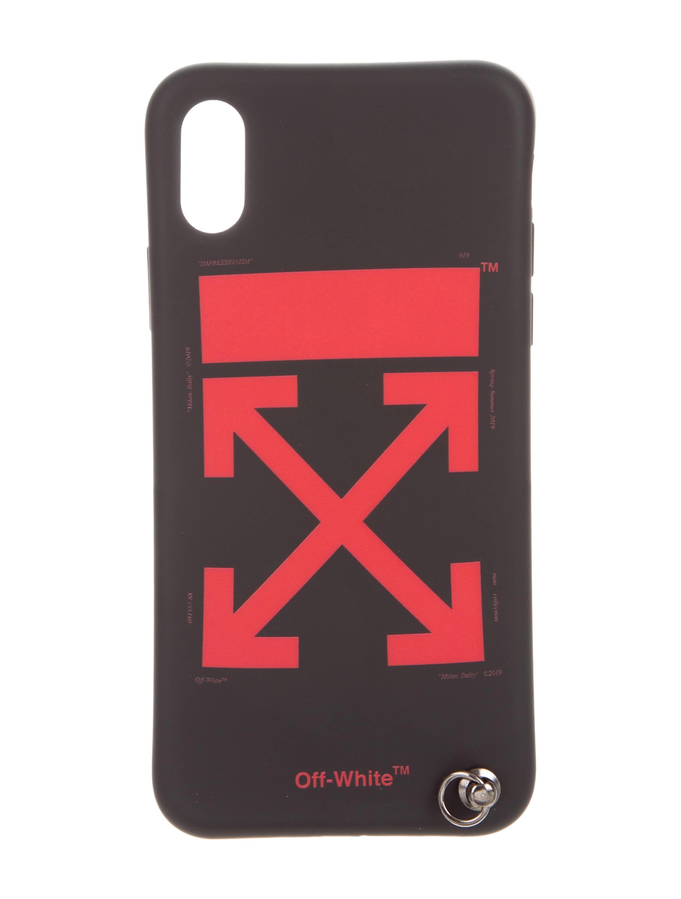 1b1dad947ad8 Off-White c o Virgil Abloh Arrow iPhone X Case w  Tags - Technology ...