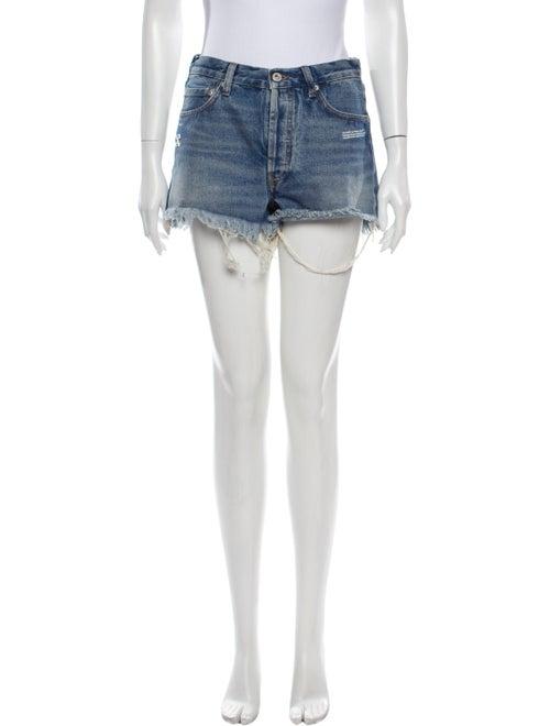 Off-White c/o Virgil Abloh Denim Mini Shorts Mini