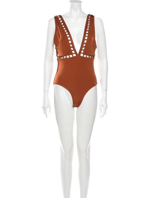 OYE Swimwear One-Piece w/ Tags Orange