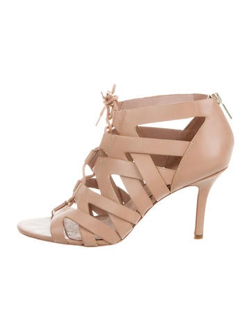 Pour La Victoire Camila Leather Sandals None