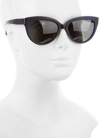Matte Cat-Eye Sunglasses