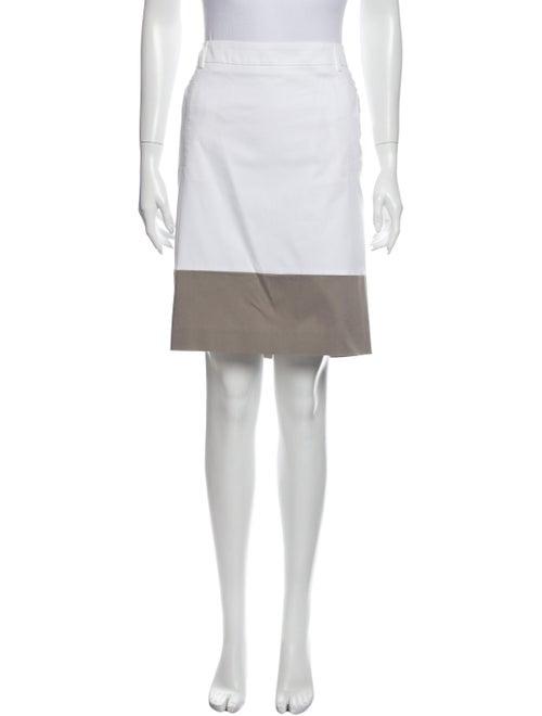 Peserico Knee-Length Skirt White