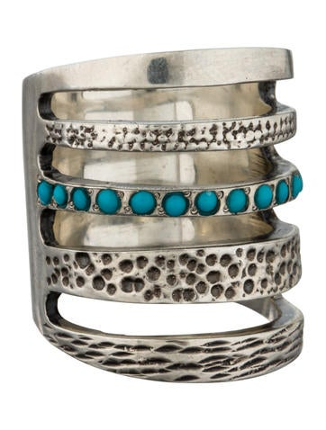 Turquoise Cage Ring