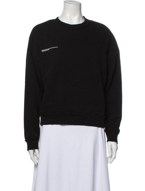 Pangaia Crew Neck Sweater Black