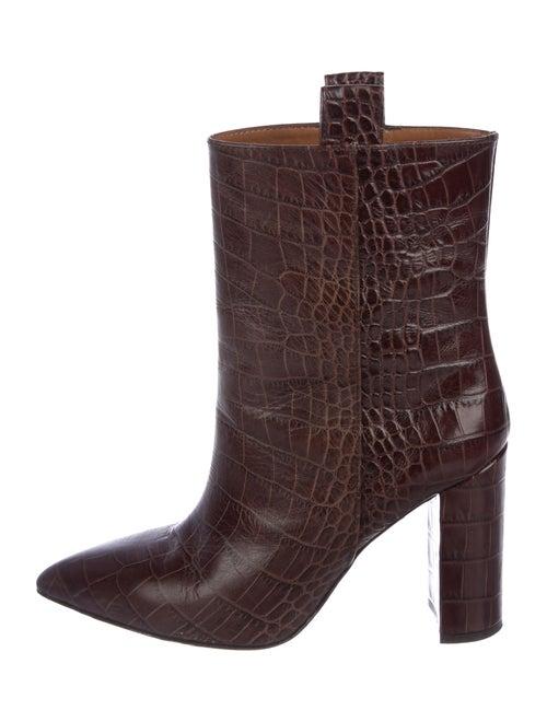 Paris Texas Embossed Mid-Calf Boots
