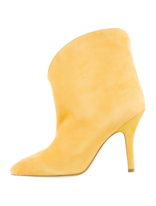Paris Texas 2019 Suede Boots Yellow