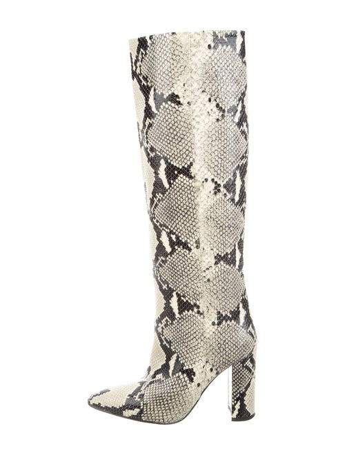 Paris Texas Embossed Leather Boots