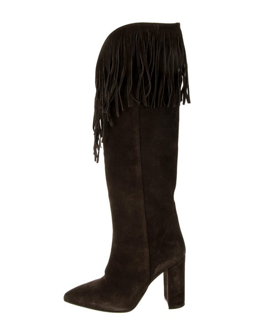 Paris Texas Suede Boots Brown
