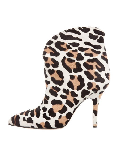 Paris Texas Ponyhair Animal Print Boots
