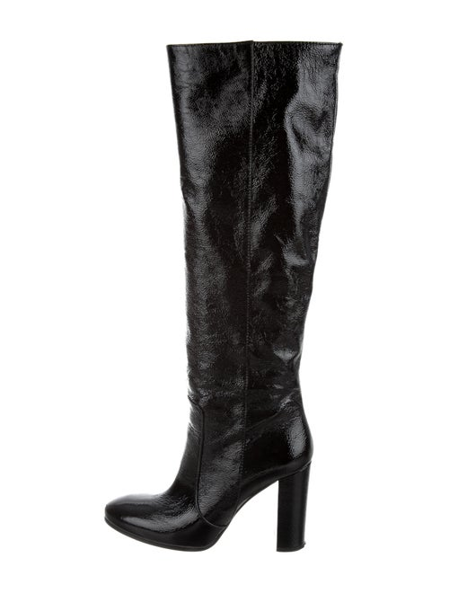 Paris Texas Patent Leather Boots Black