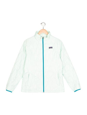 Patagonia Girls' Quilted Stand Collar Jacket None