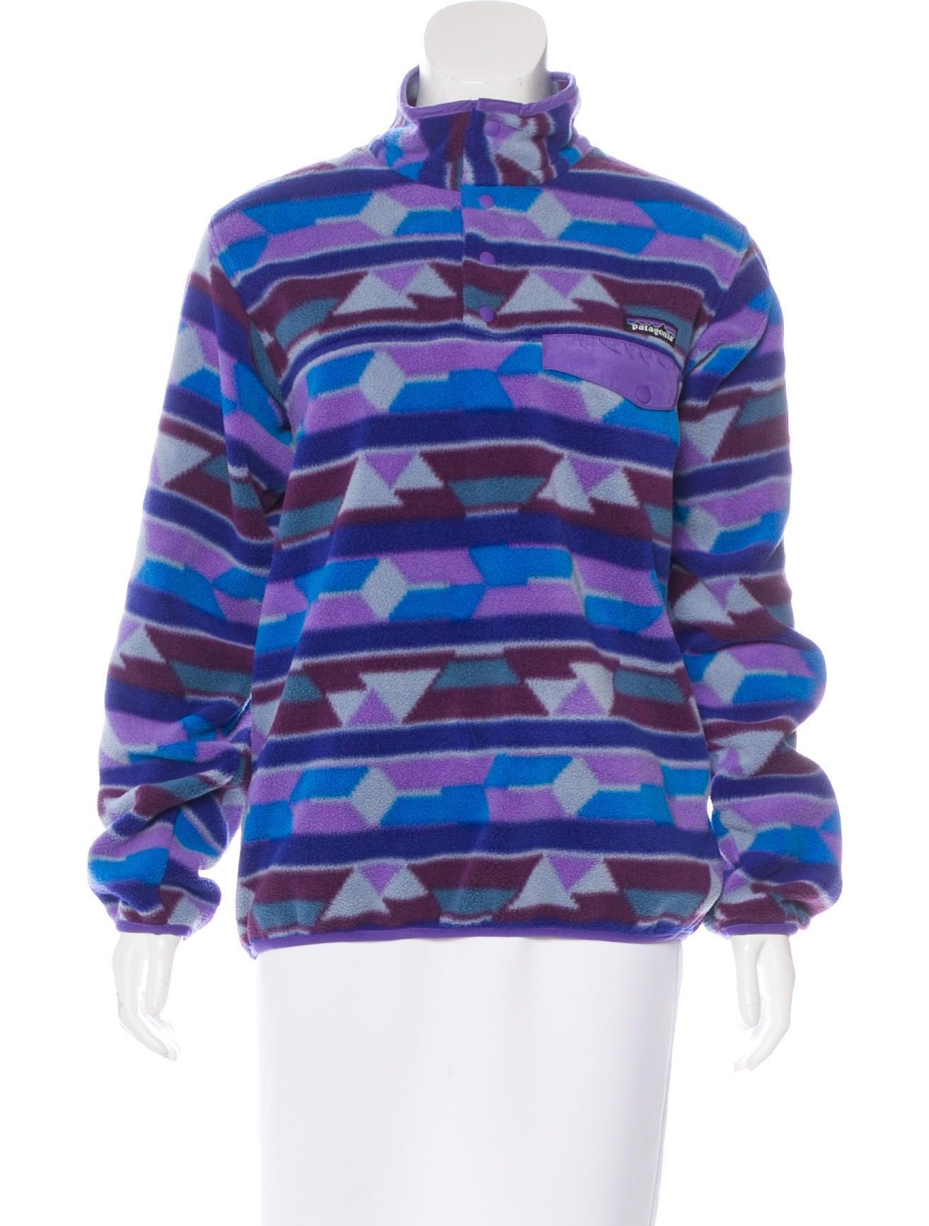 Patagonia Fleece Pullover Sweatshirt Clothing