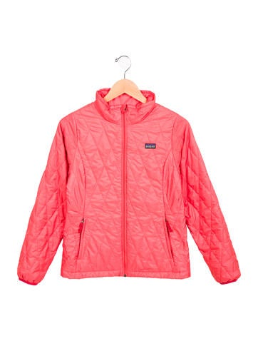 Patagonia Girls' Quilted Lightweight Jacket None