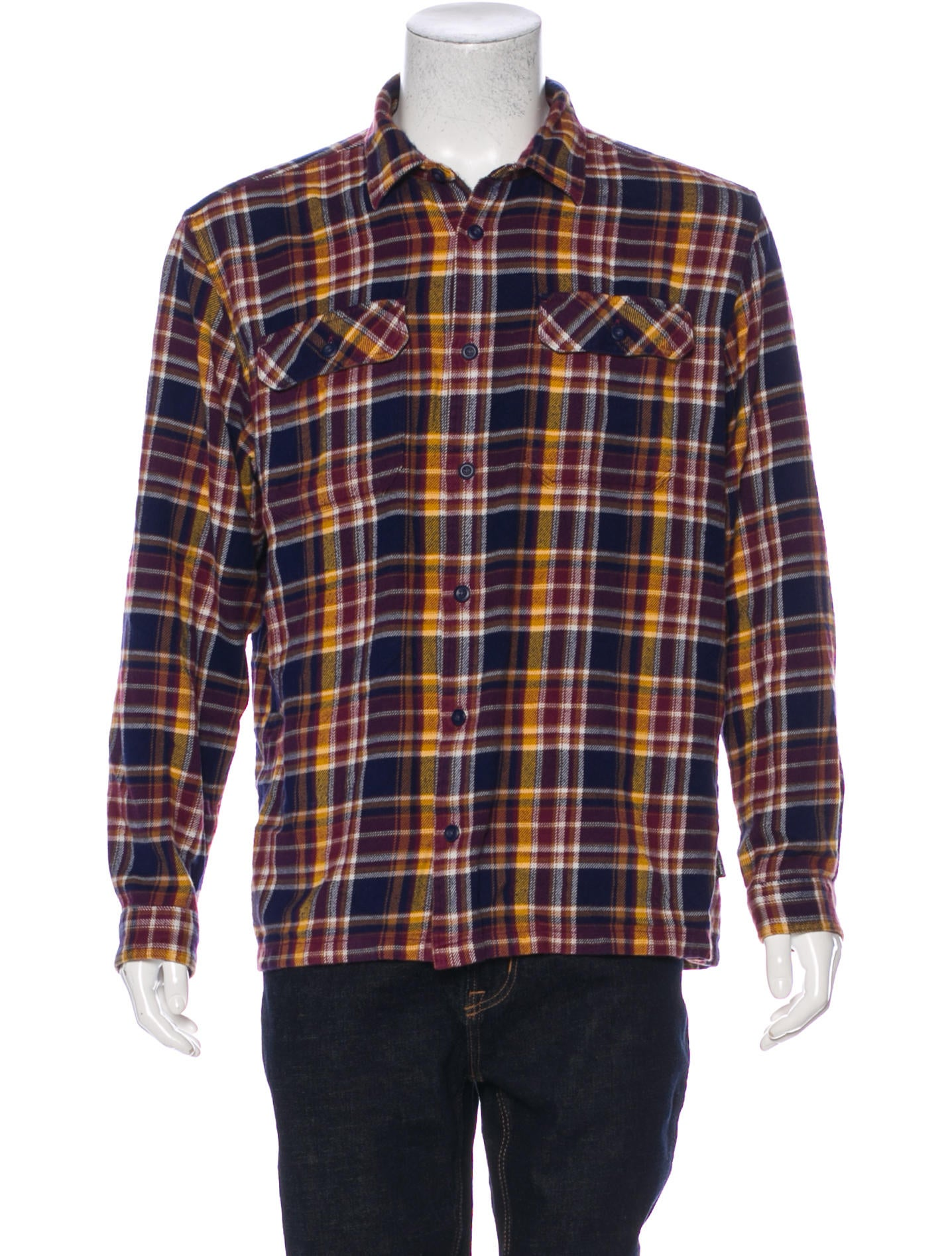 91d6bbf52a37 Patagonia Flannel Button-Up Shirt - Clothing - WPATG21981