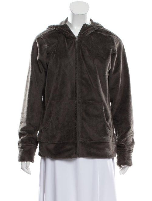 Patagonia Shearling Hooded Jacket green