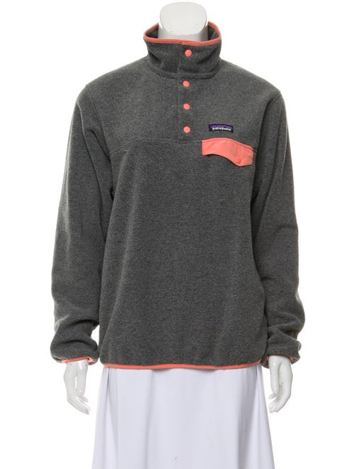 Patagonia Turtleneck Long Sleeve Top Grey
