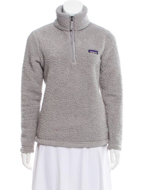Patagonia Turtleneck Long Sleeve Sweatshirt Grey