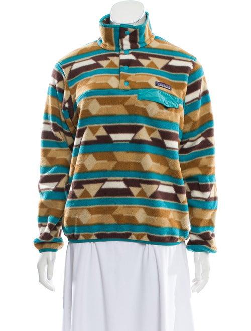 Patagonia Printed Collar Sweater Brown