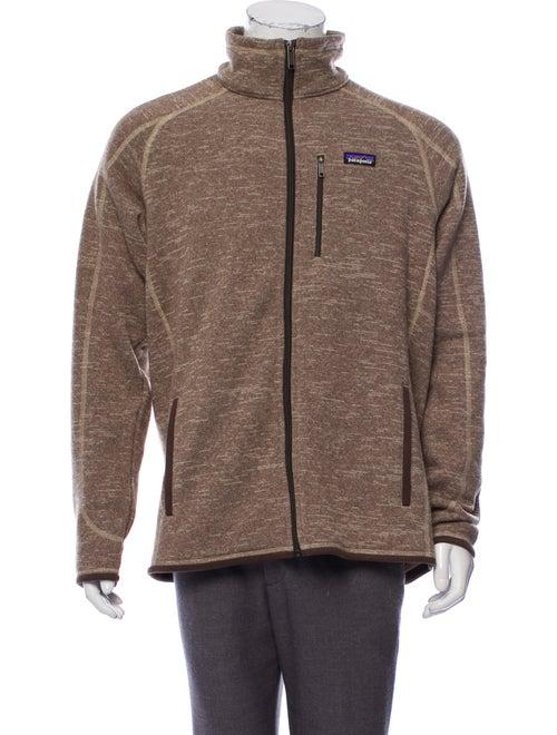 Patagonia Fleece Zip-Up Jacket brown