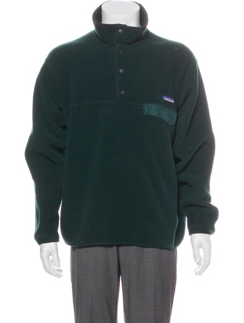 Patagonia Synchilla Fleece Sweater green