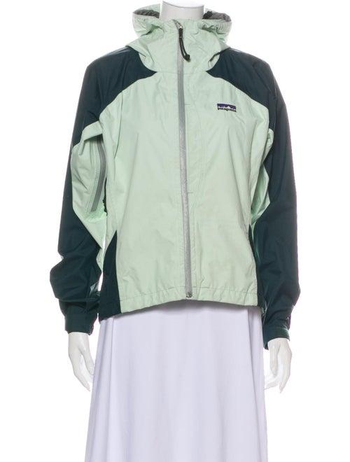Patagonia Colorblock Pattern Jacket Green
