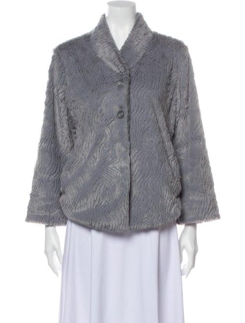 Patagonia Faux Fur Jacket Grey