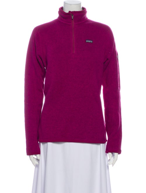 Patagonia Mock Neck Sweater Pink