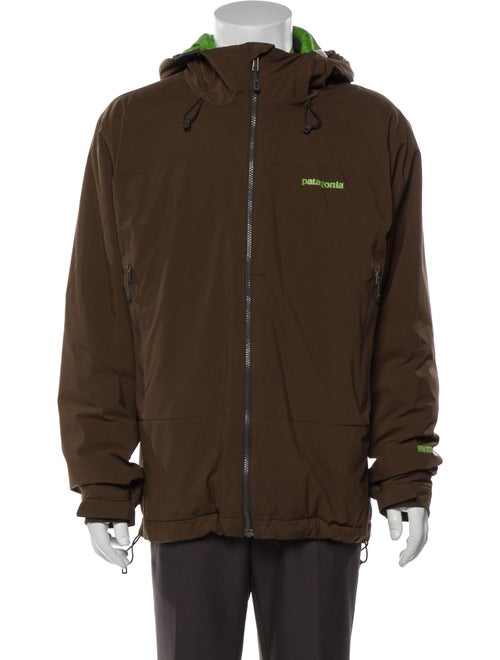 Patagonia Puffer Coat Brown