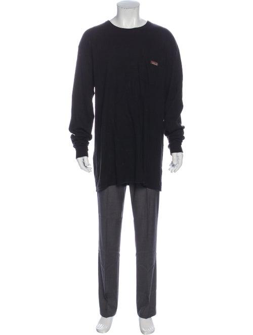 Patagonia Crew Neck Long Sleeve T-Shirt Black