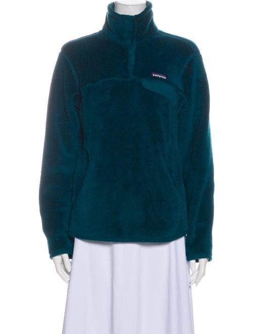 Patagonia Faux Fur Jacket Green