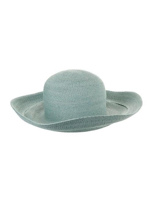 Patricia Underwood Straw Wide Brim Hat - image 1