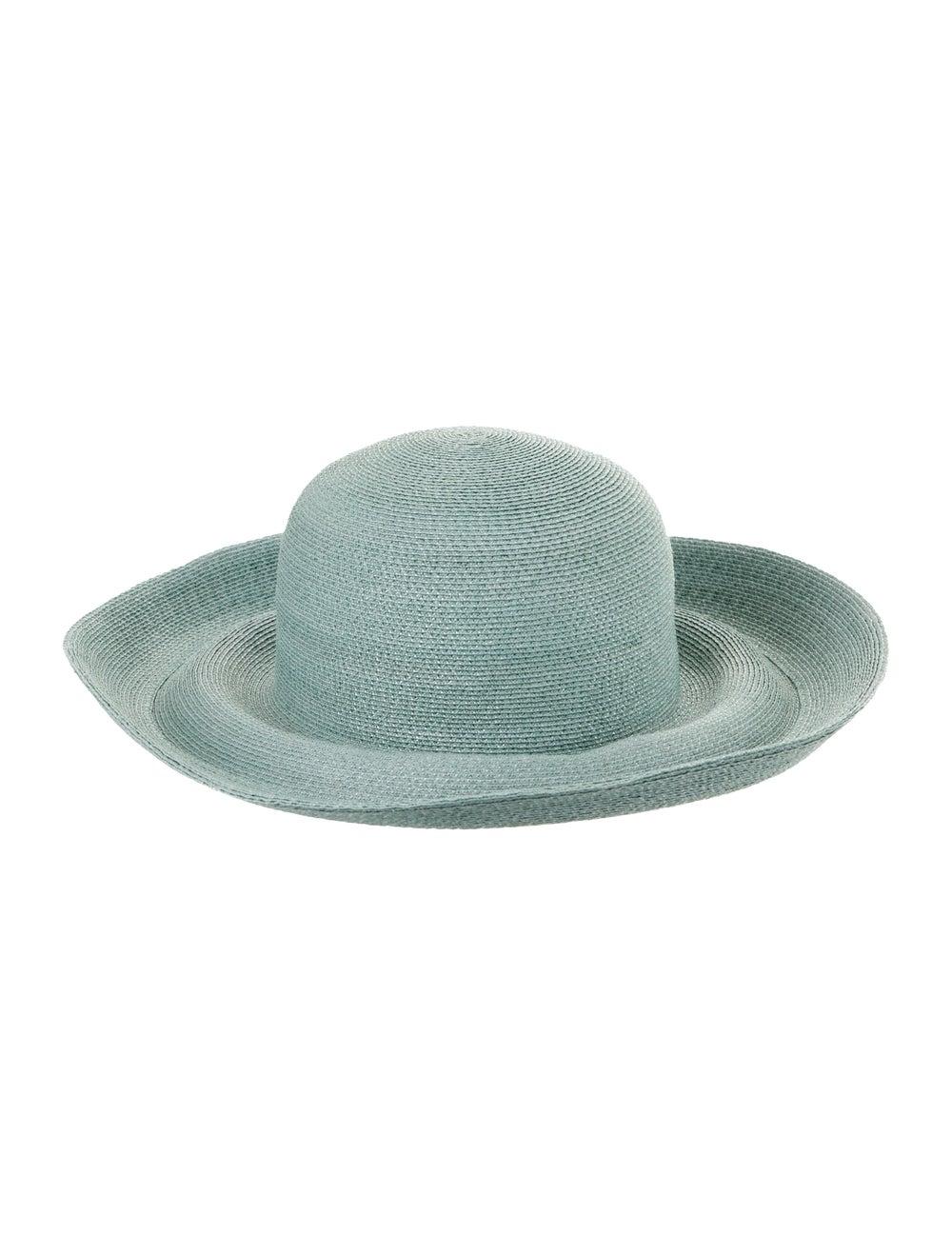 Patricia Underwood Straw Wide Brim Hat - image 2