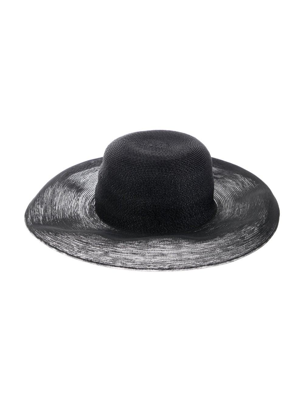 Patricia Underwood Wide Brim Hat Black - image 2
