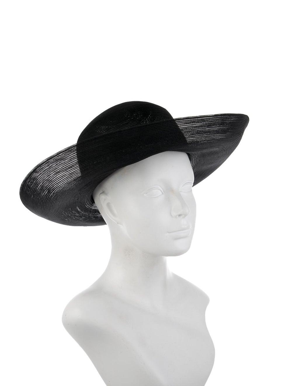 Patricia Underwood Wide Brim Sun Hat Black - image 3