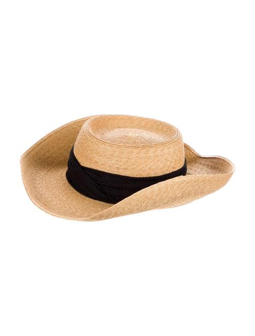 Patricia Underwood Wide Brim Sun Hat Beige - image 1