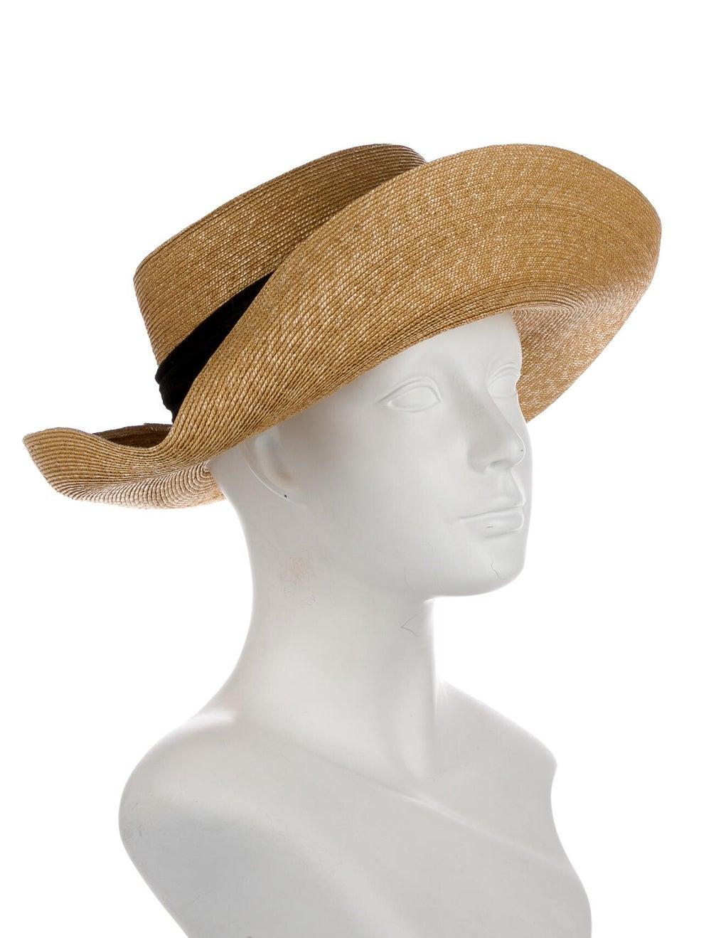 Patricia Underwood Wide Brim Sun Hat Beige - image 3