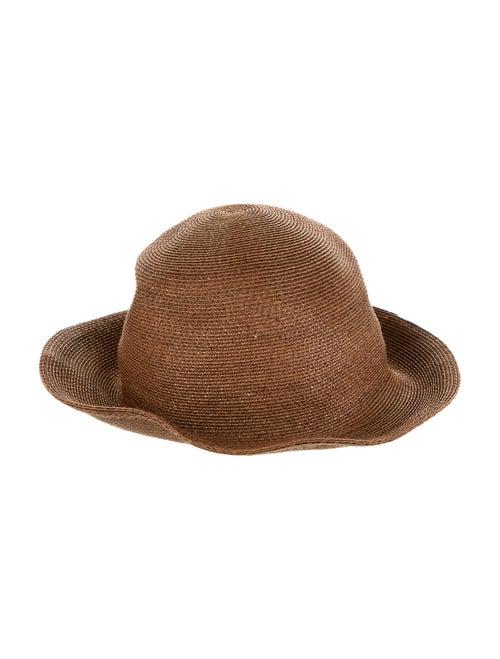 Patricia Underwood Straw Hat Brown