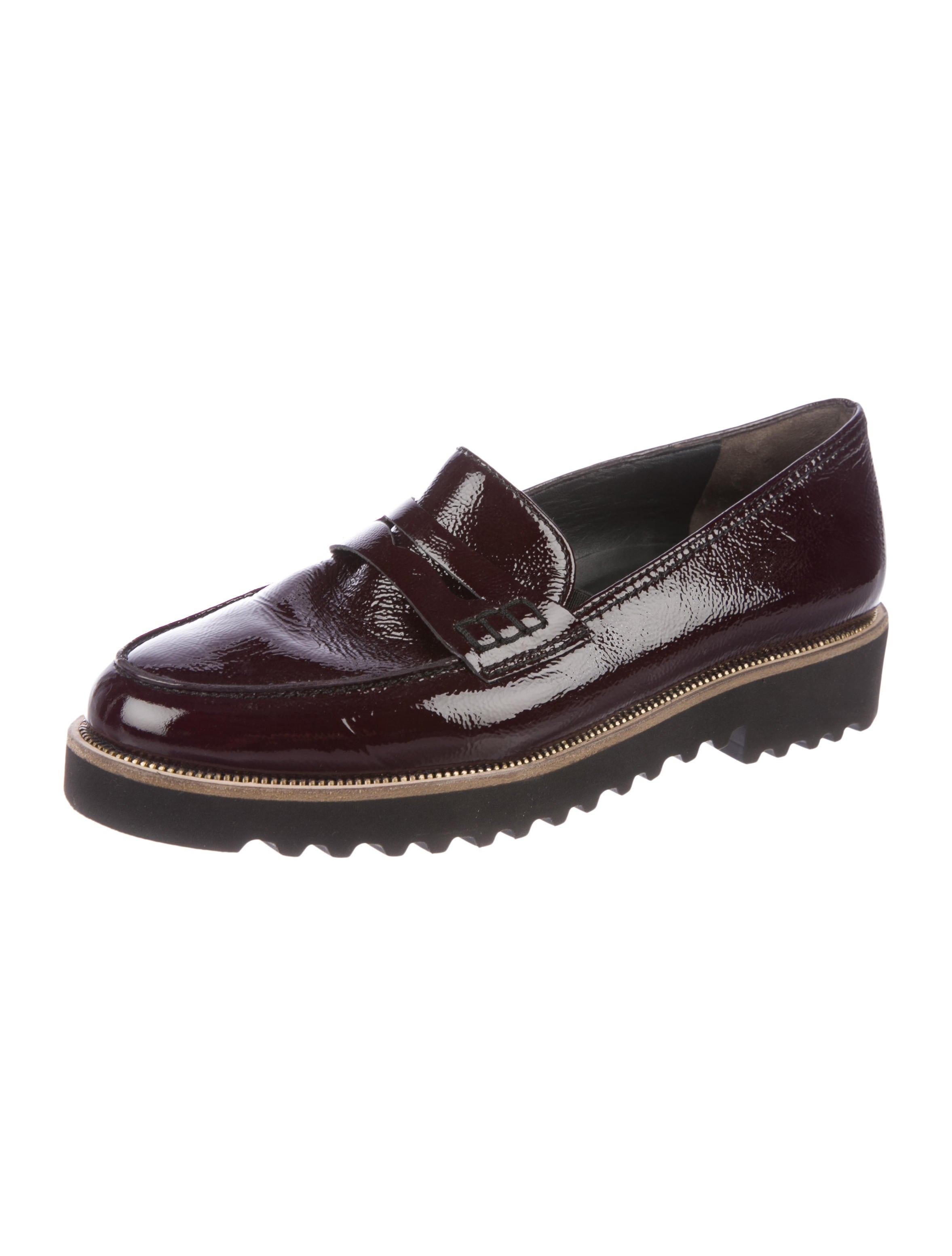 perfect cheap price buy cheap many kinds of Paul Green Patent Leather Round-Toe Loafers ZpAW53Wlv