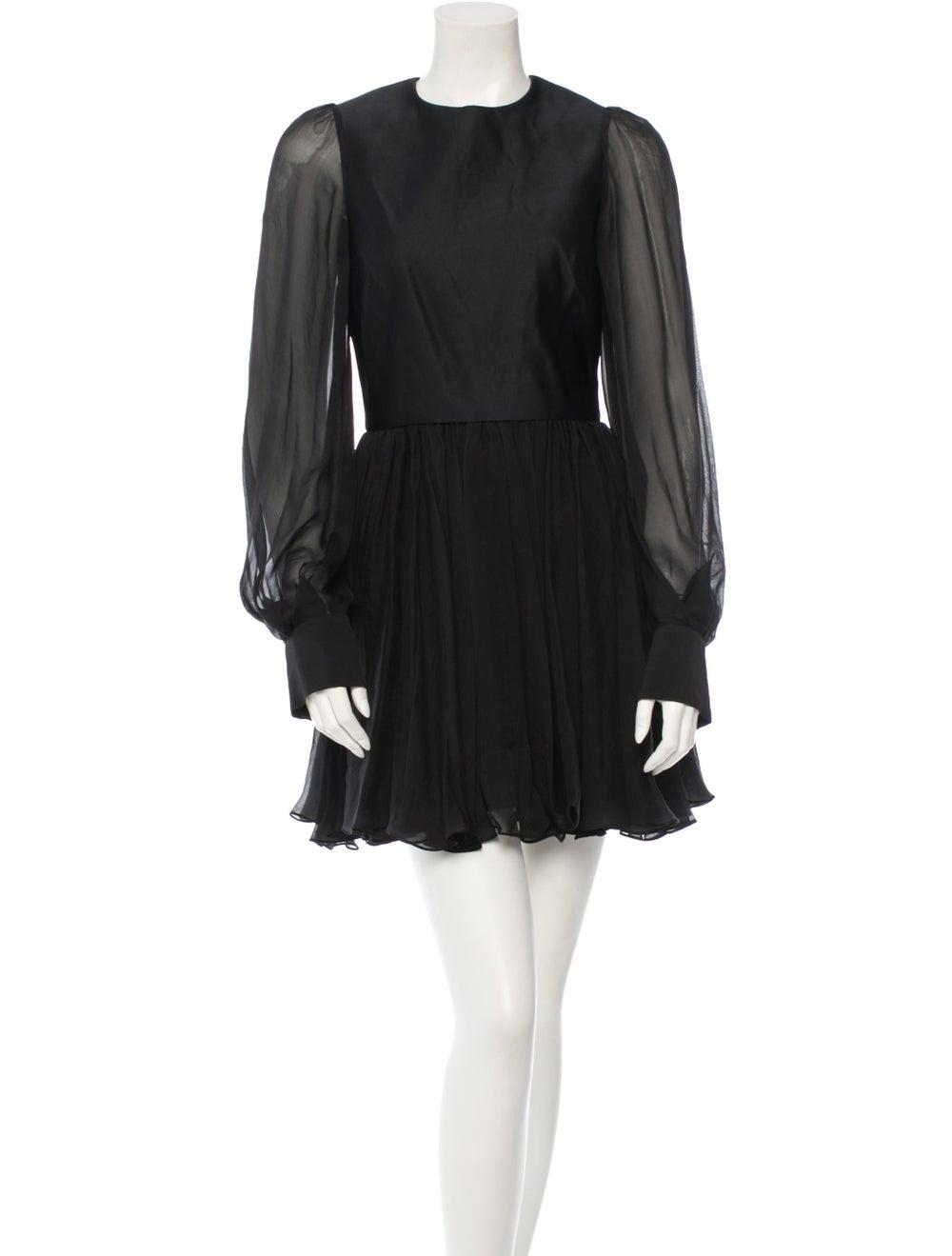 Plein Sud Silk Dress Black - image 1