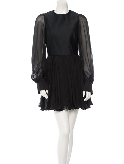 Plein Sud Silk Dress Black