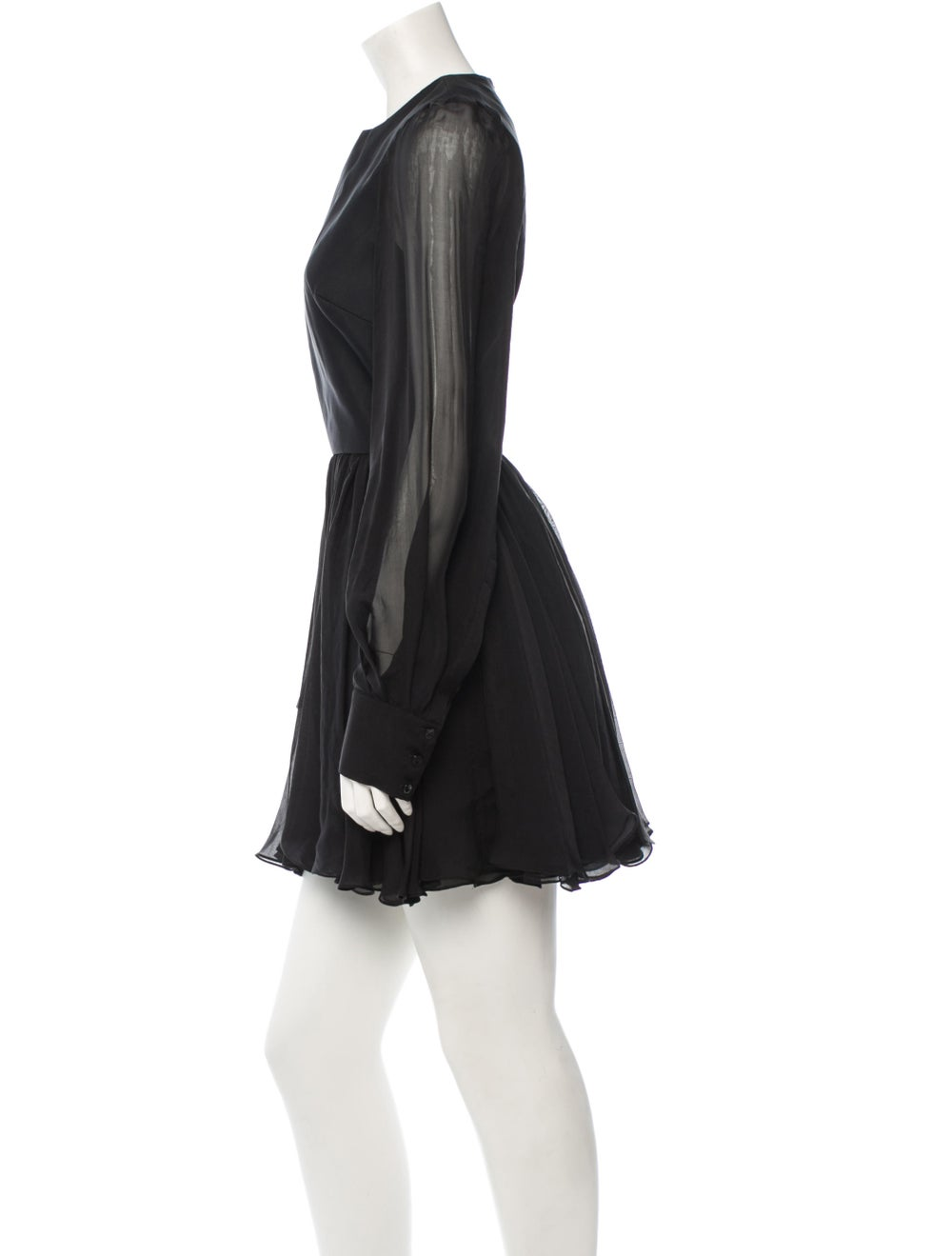 Plein Sud Silk Dress Black - image 2