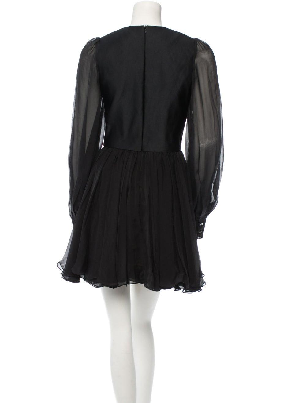 Plein Sud Silk Dress Black - image 3