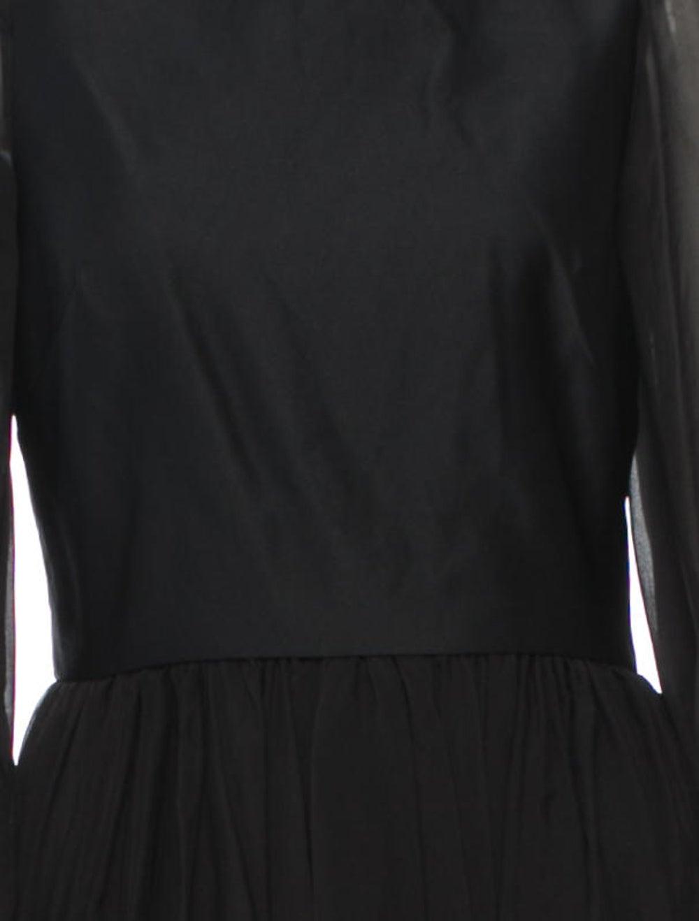 Plein Sud Silk Dress Black - image 4