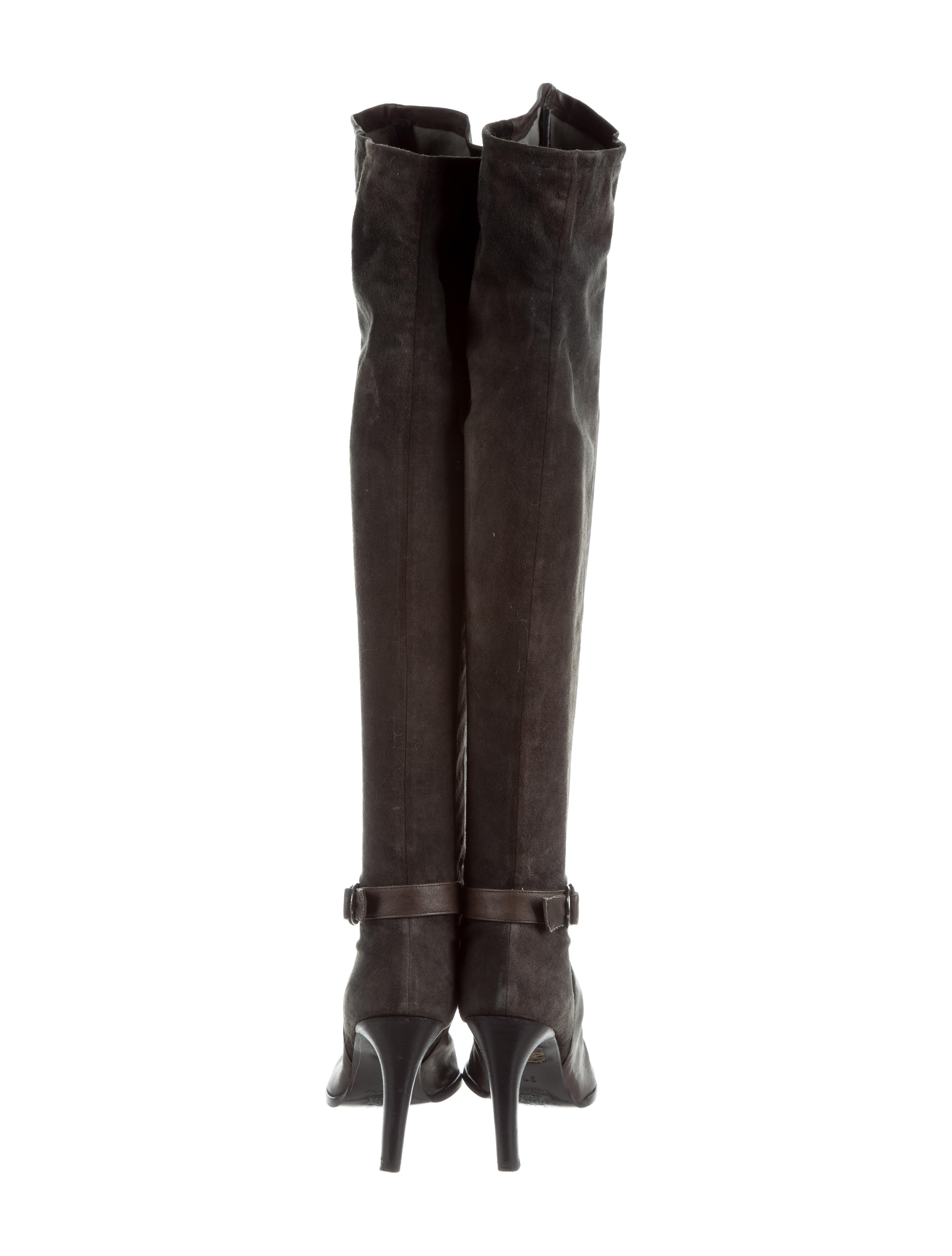 cheap discount fashionable online Plein Sud Paneled Over-The-Knee Boots cheap sale online 0r9RbEtMo